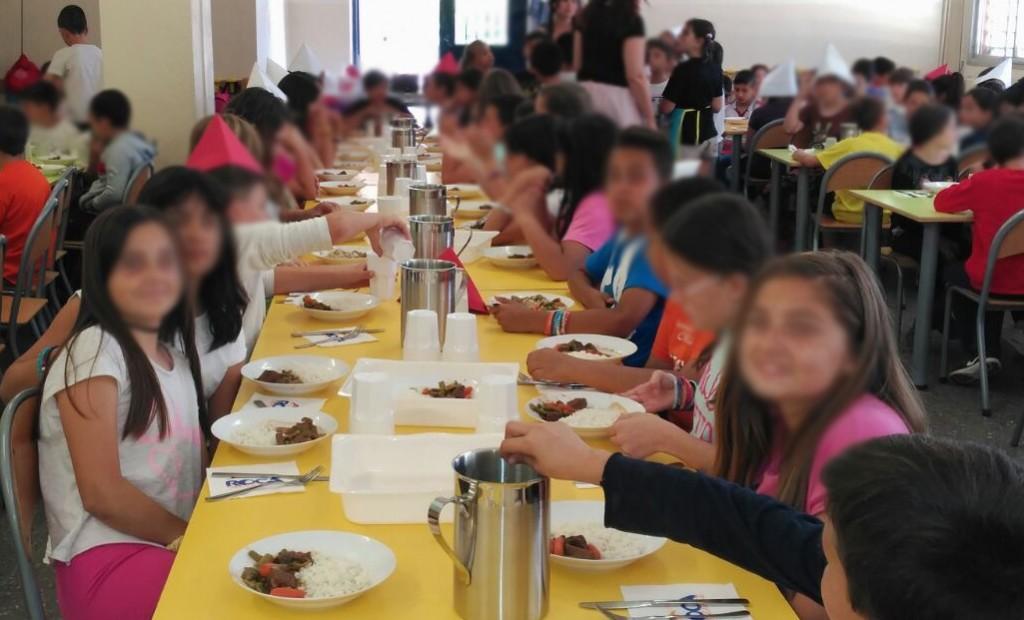 En el menjador escolar Barcelona