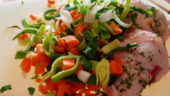 Receta: Sopa completa con carne para comedores escolares