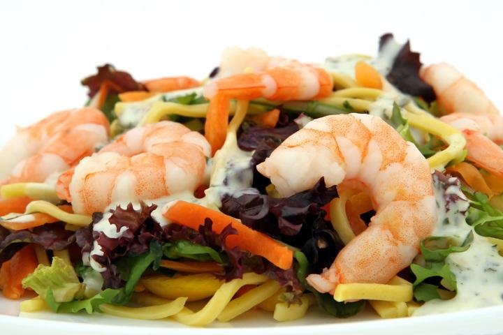 recepta espagueti amb mariscs