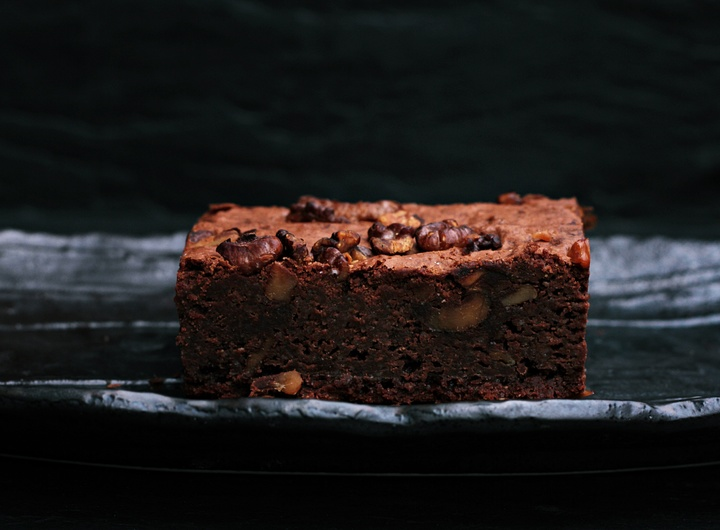 recepta saludable de brownie